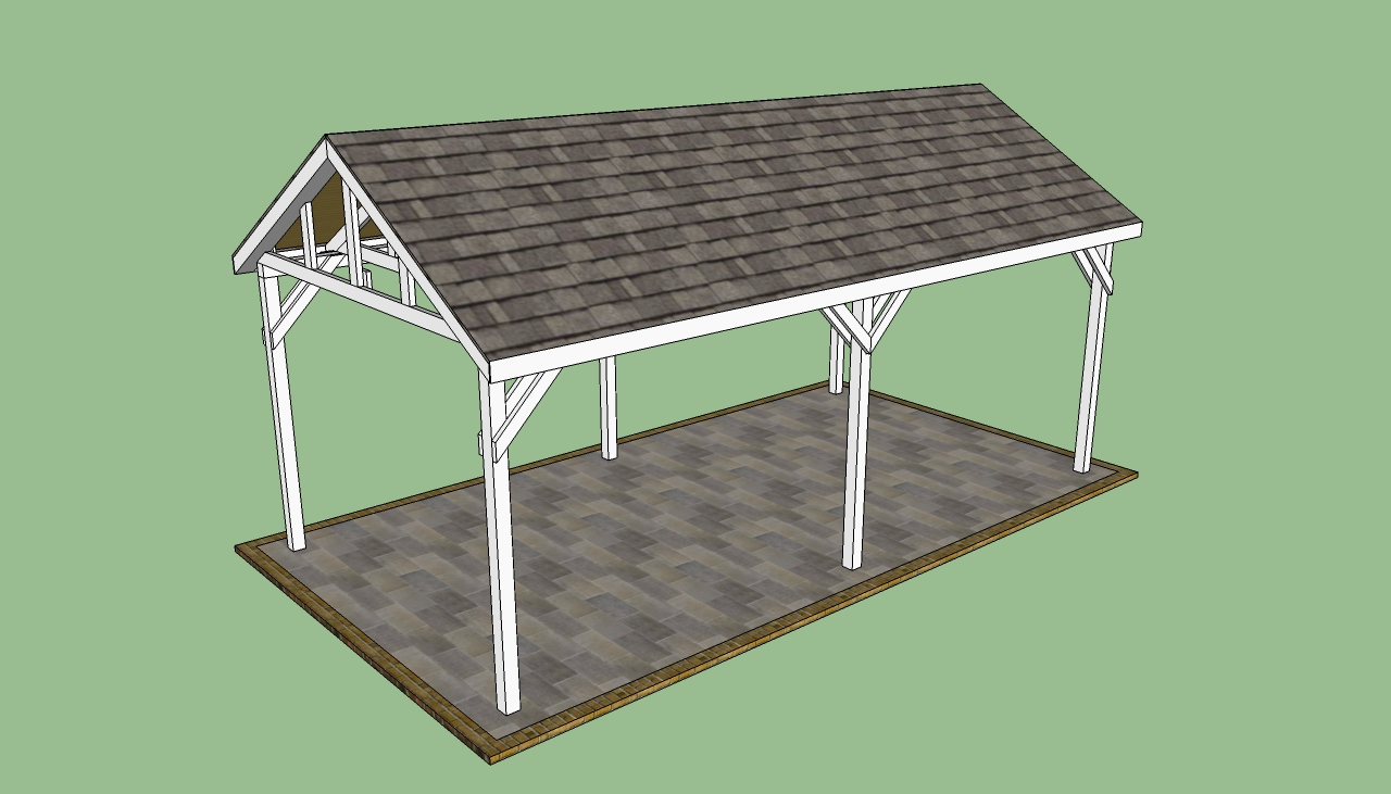 Free Carport Blueprints Easy Project Ideas For Kids Plans Download