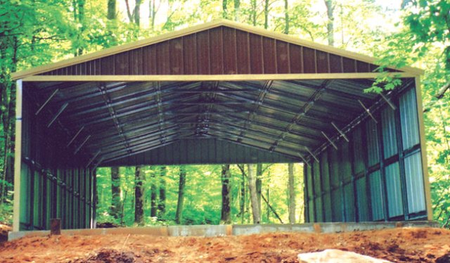Steel Buildings Recreational Vehicle Storage RV Port