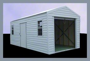 Steel Buildings backyard Storage