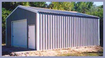 A-Frame Garages Steel Buildings A-Frame Vertical Style Garage
