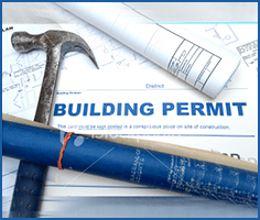 Photo of building permits