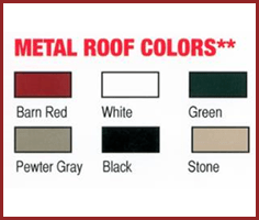 Colors of Roofing Materials