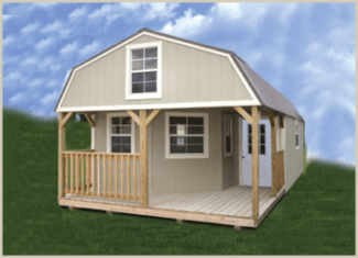 Deluxe Side Lofted Barn Cabin