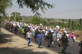 Banderines flamearon por la paz de Los Molinos. Fotos: CODEHICA.