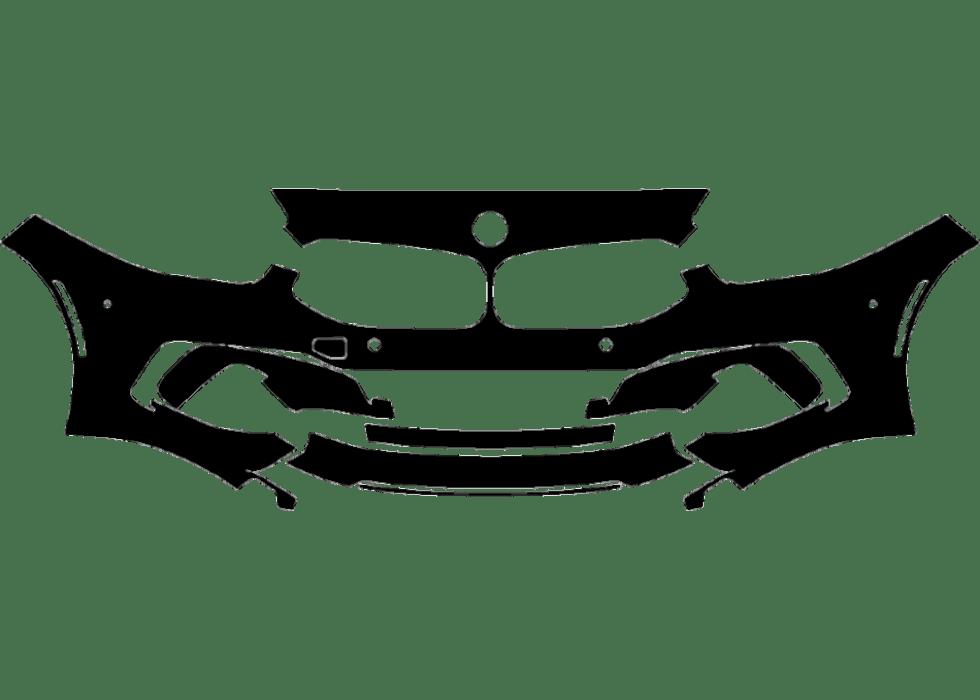 2019-2020 BMW Z4 Sport Line 3M Pro Series Clear Bra Front