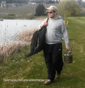 carp fishing scaled down