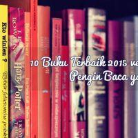 10 Buku Terbaik 2015 versi Amazon - Pengin Baca yang Mana?