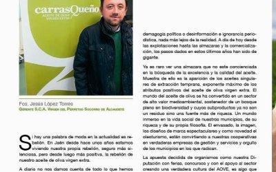 Nuestro Gerente Jesus Lopez habla sobre el sector del Aceite de Oliva Virgen Extra
