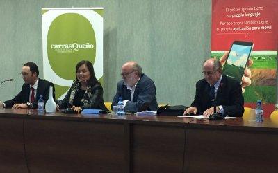El pasado 29 de octubre con la organización del Grupo Santander, Cesar Lumbreras director y presentador del programa Agropopular de la Cadena Cope, nos habló en el salón de actos de la Cooperativa Virgen del Perpetuo Socorro, de la nueva PAC.