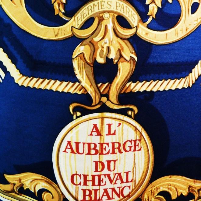 Al' Auberge du Cheval Blanc, Francoise Heron, 1970