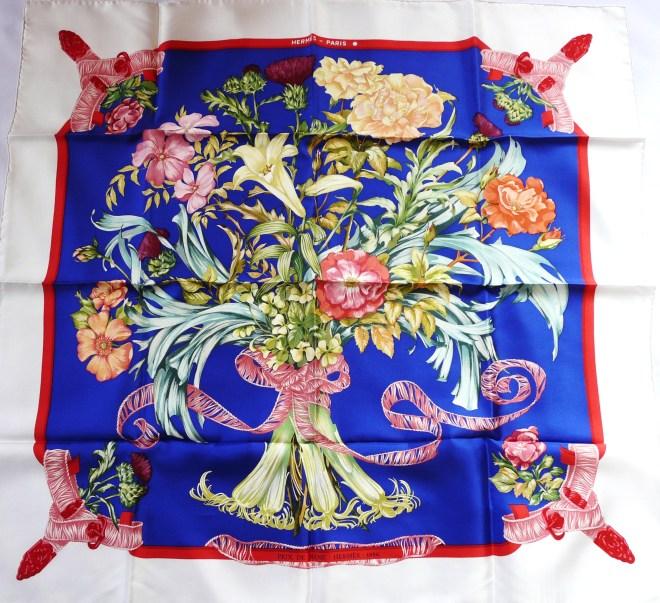 Authentic Vintage Hermès Silk Scarf Regina Prix de Diane - Hermès - 1986, Limited Special Edition - Unworn