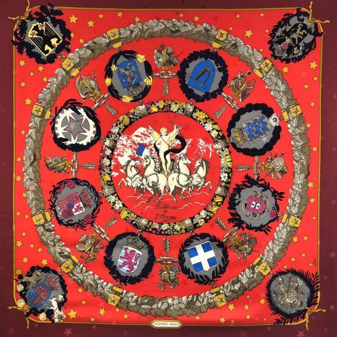 Emblemes_de_l_Europe_HERMES_Silk_Jacquard_Scarf_1000x