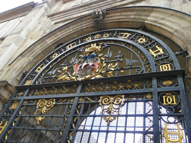 Gate at the Musée Carnavalet, Le Marais, Paris