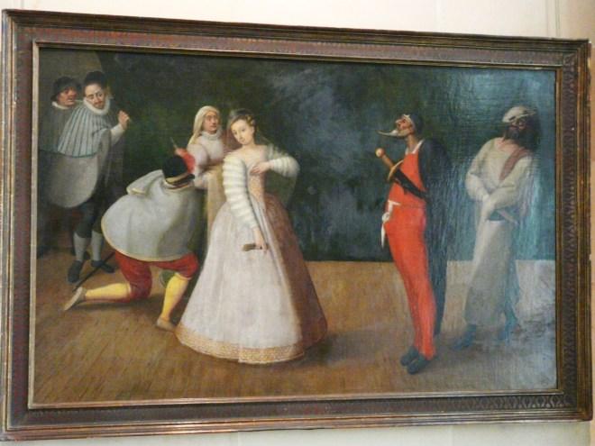 La Comedie Italienne, Painting, Musée Carnavalet