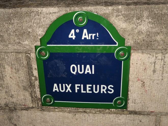 Quai aux Fleurs, Paris