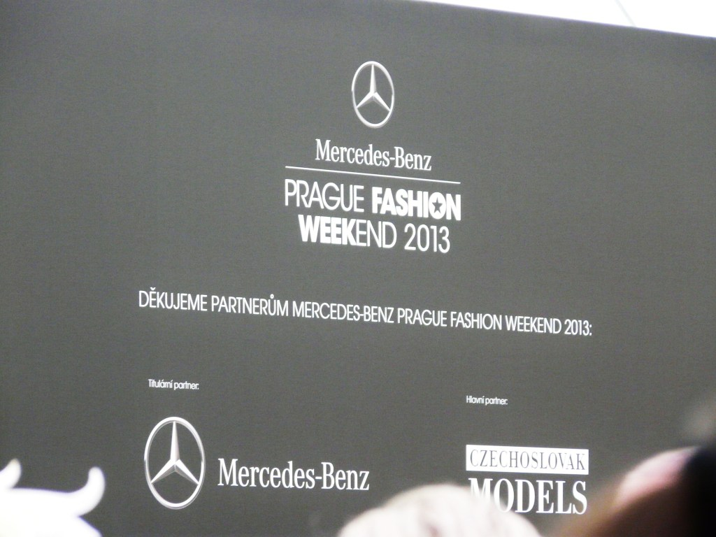 Mercedes-Benz Prague Fashion Show, 2013