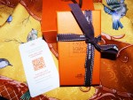 Hermes Knotting Cards No. 5