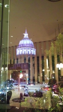 View from San Francisco Davies Symphony Hall