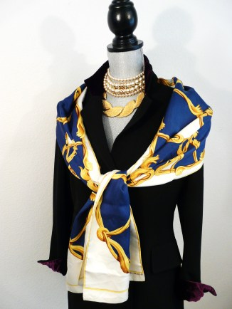 Crown, Julia Abadie, Opera Scarf - RARE