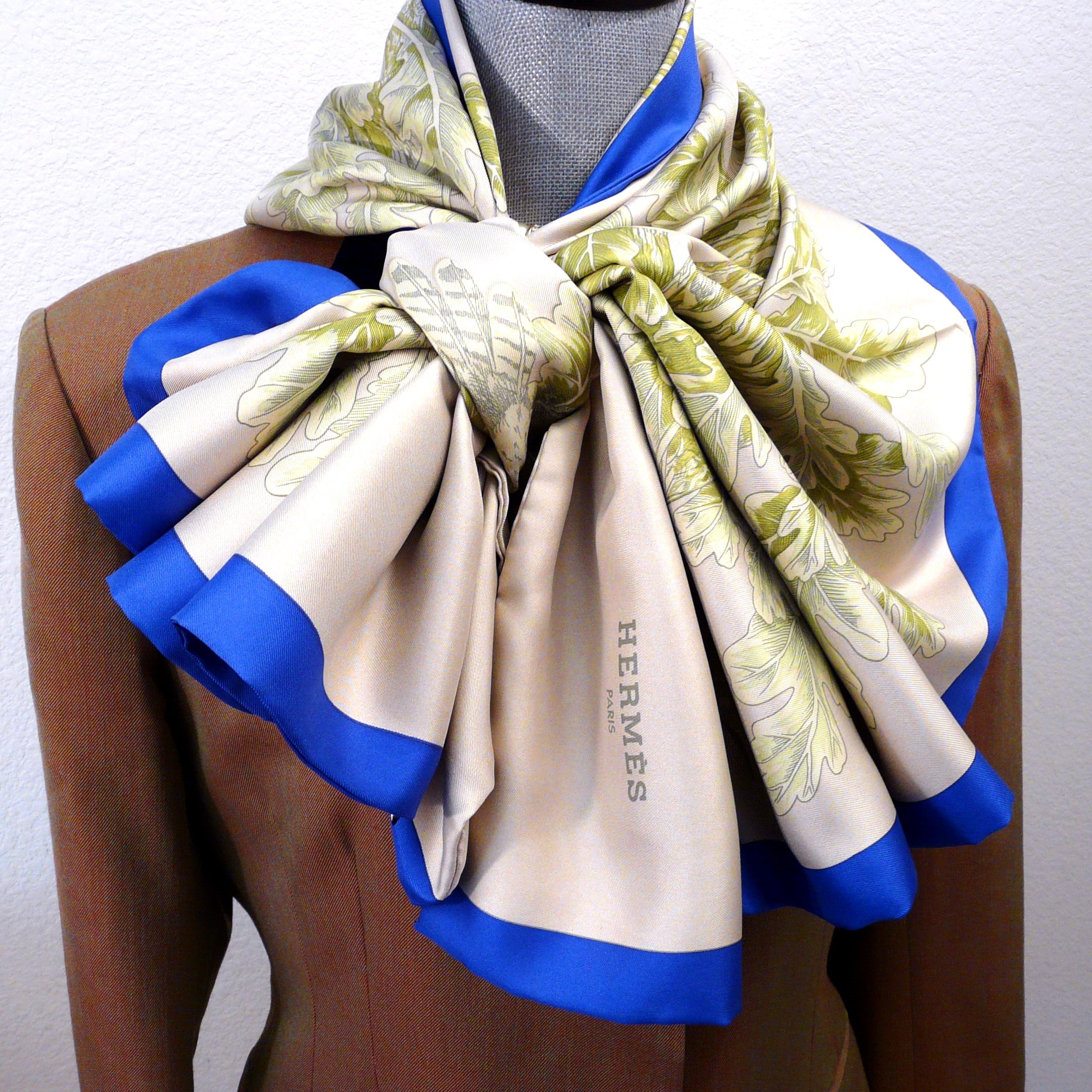 Reversible Hermes Shawl