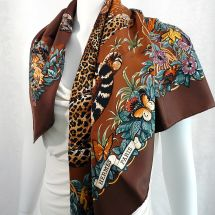 Jungle Love HERMES Scaf Tutorials