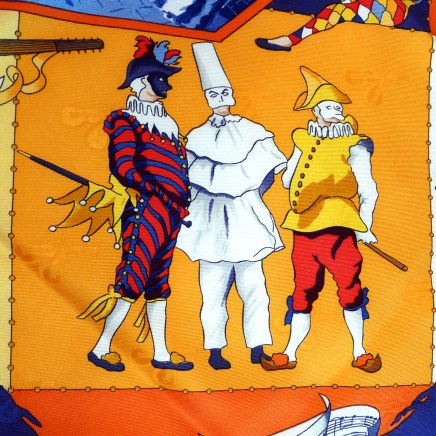 Carnaval de Venise HERMES Carre Detail