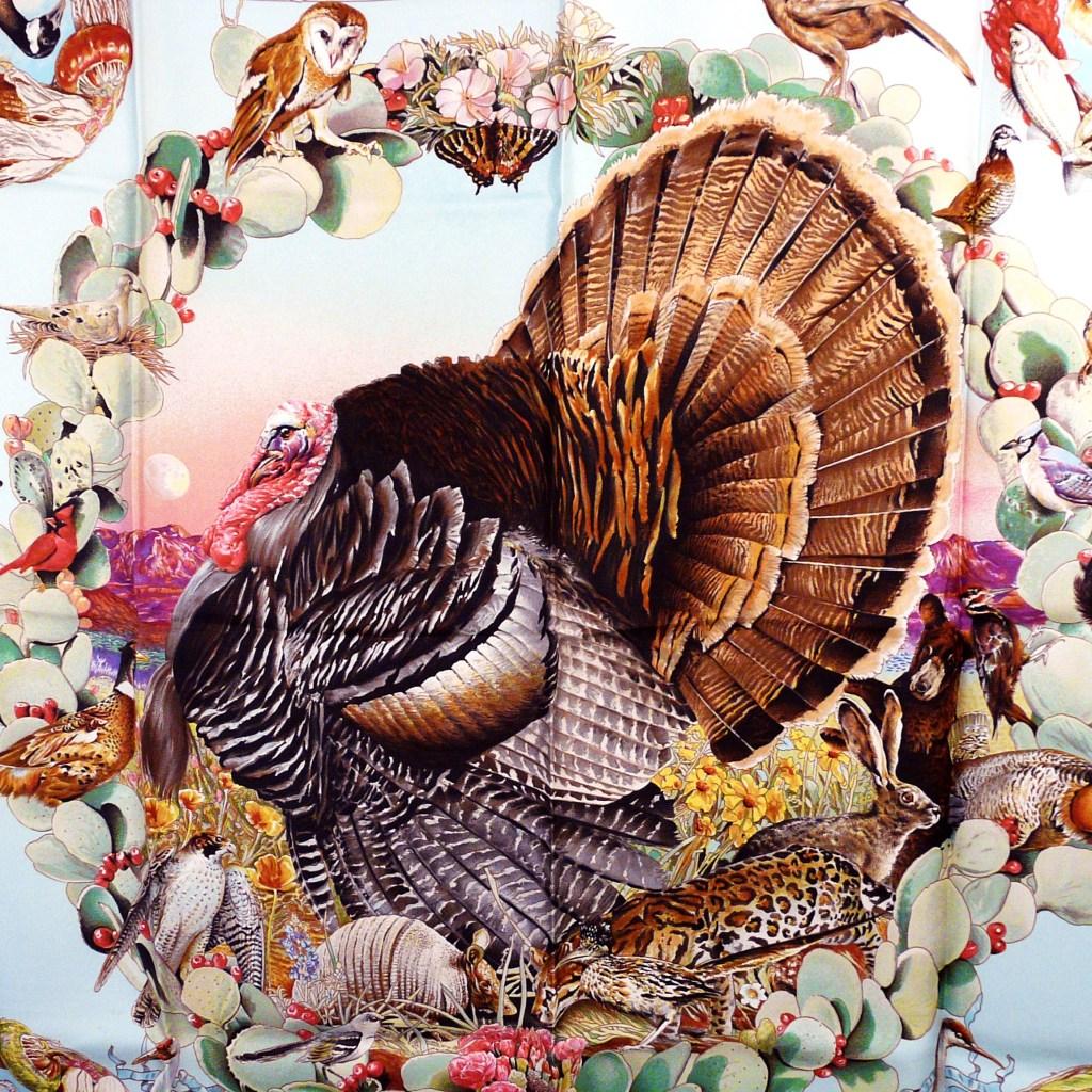 Faune et Flore Du Texas - Texas Wildlife HERMES Close up of Turkey