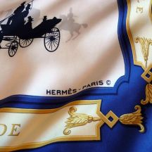 Le Bois de Boulogne HERMES Paris Copyright