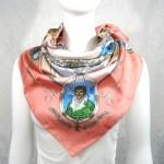 Le Geographe HERMES Vintage Silk Scarf