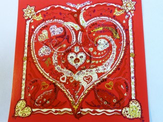 De Tout Coeur Stamp from 2013 Special Valentine's Day Edition
