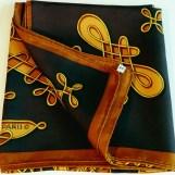 Vinci HERMES Vintage Carre brown 2