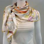 Tohu Bohu HERMES Paris 36 inch Silk Scarf