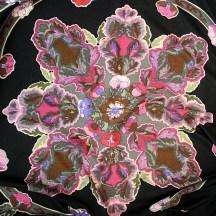 Anemones HERMES Cashmere Silk 140 cm shawl