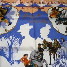 Feria de Sevilla HERMES 36 inch Silk Scarf