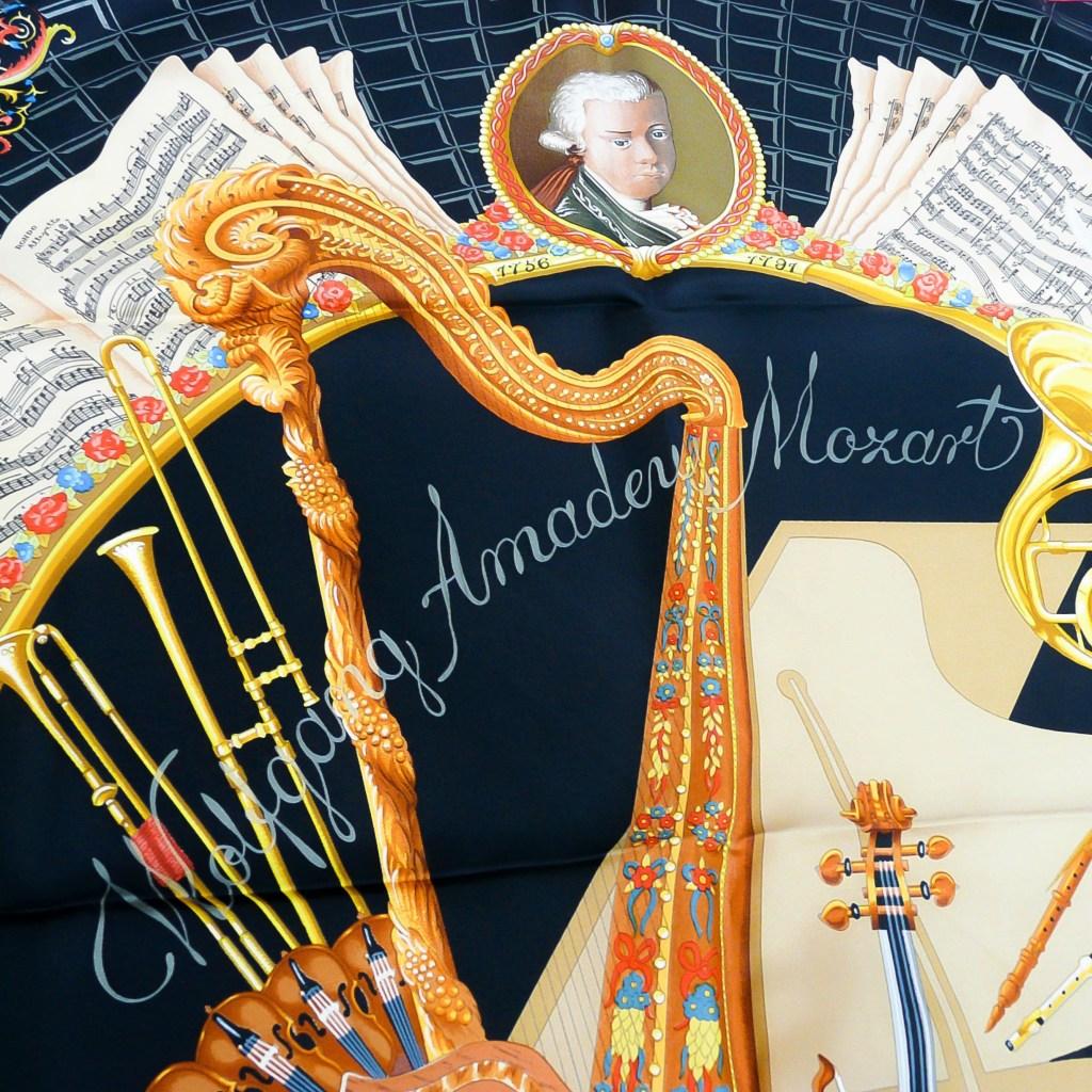 Hommage a Mozart HERMES Julia Abadie, 1996