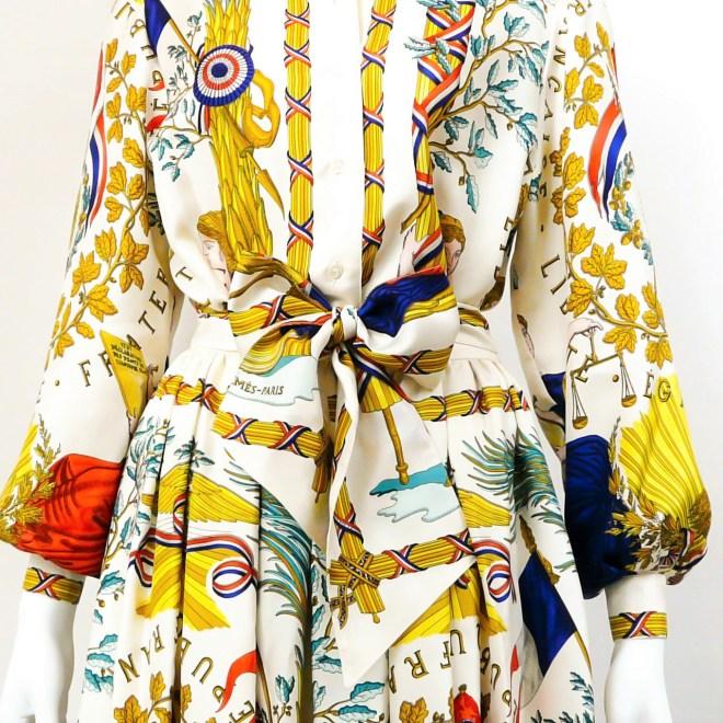Republic Francaise HERMES Skirt Set