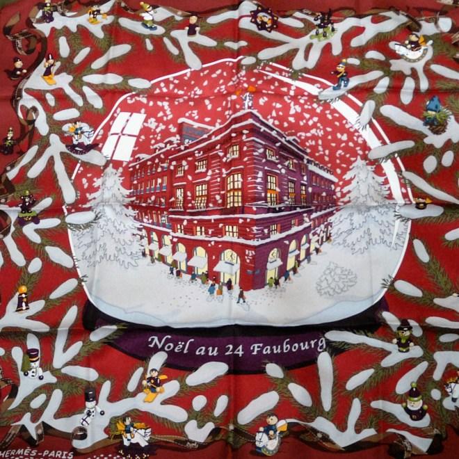 Noel au 24 Faubourg HERMES Carre, Dimitri Rybaltchenko, 2004