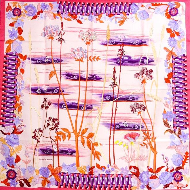 Les Bolides NIB HERMES Silk Carre
