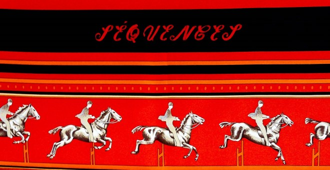 Sequences HERMES Carre, Caty Latham 1984