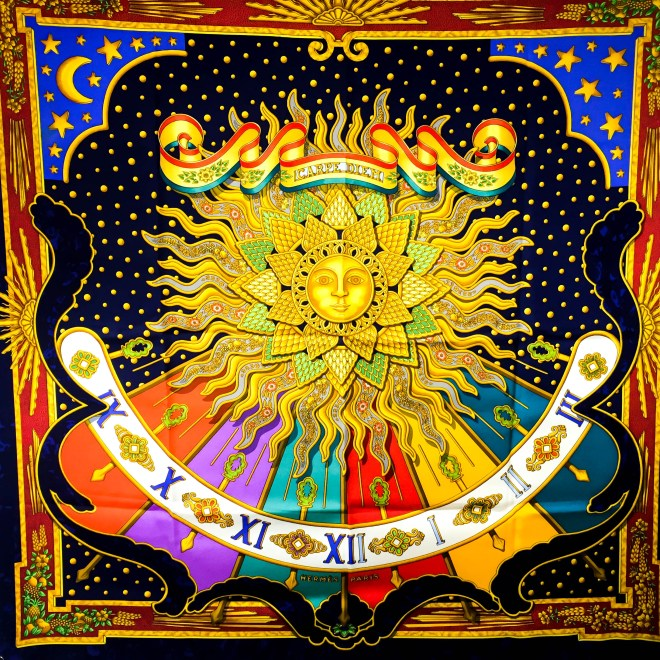 Carpe Diem - Gloria Soli HERMES Scarf, Joachim Metz 2005