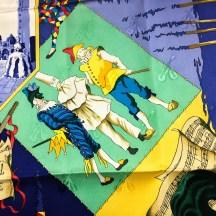 Le Carnaval de Venise HERMES Silk Scarf NIB-6