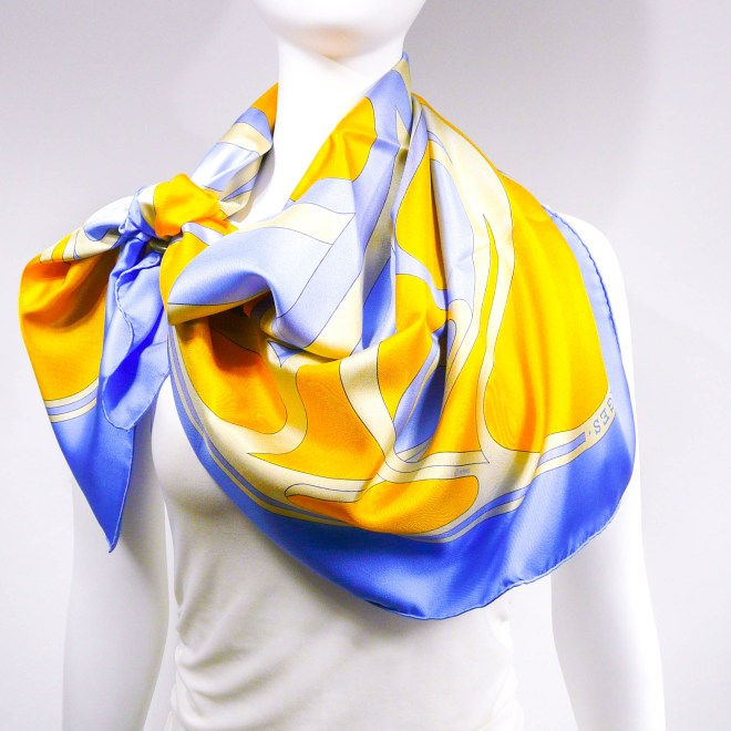 Virages HERMES Silk Scarf by CdP