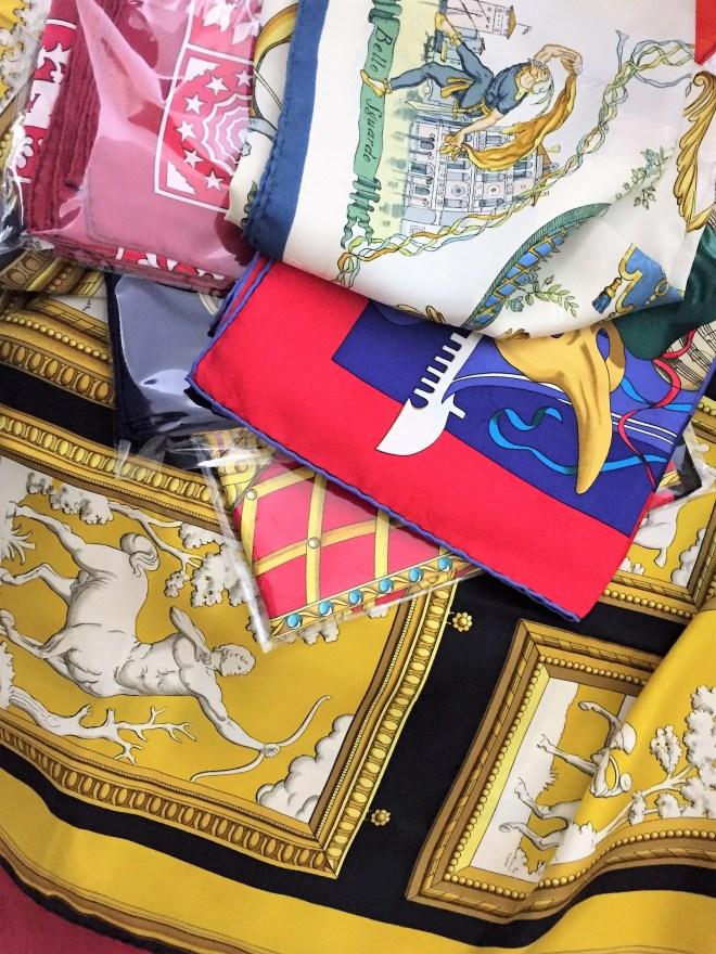 several scarves 2