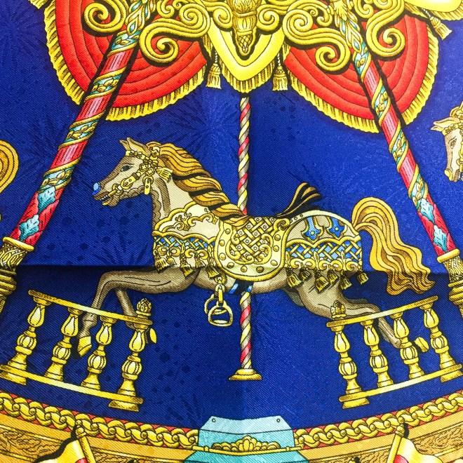 Luna Park HERMES Silk Jacquard Scarf UNWORN-9