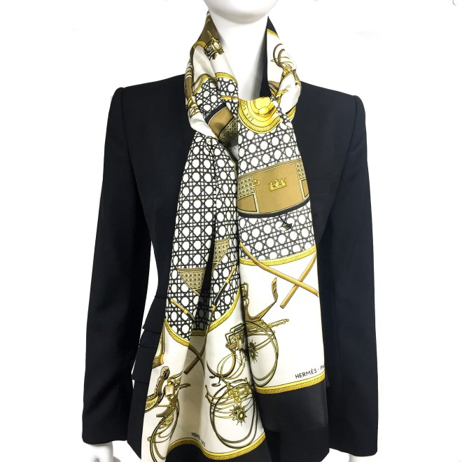Les Voitures a Transformation HERMES Silk Opera Scarf RARE-4