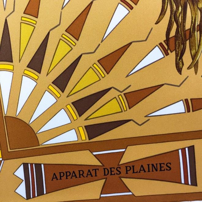 Hermes Silk Scarf Apparat des Plaines-10