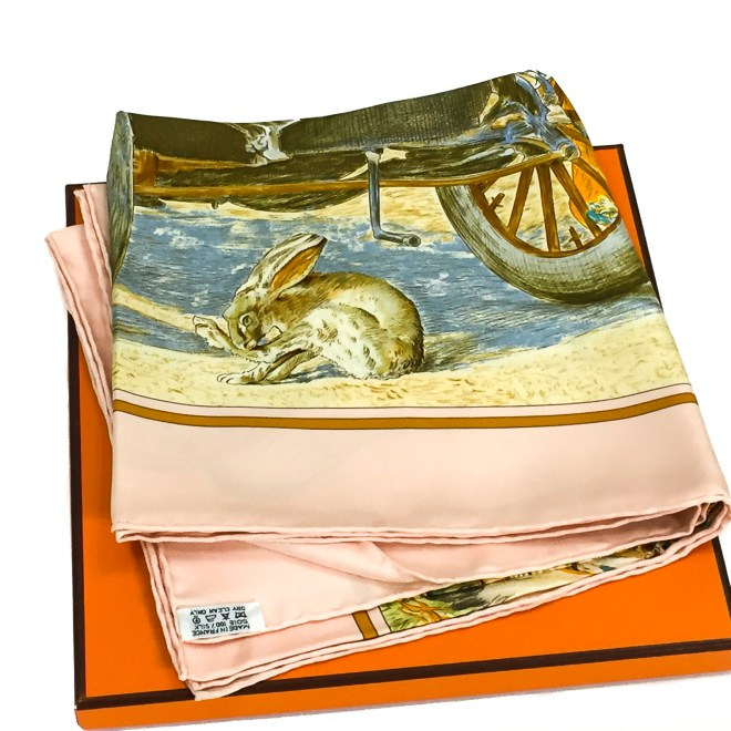 Hermes Silk Scarf Concours d'Elegance GRAIL-28