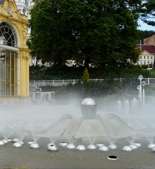 Singing Fountain, Marienbad, Czech republic