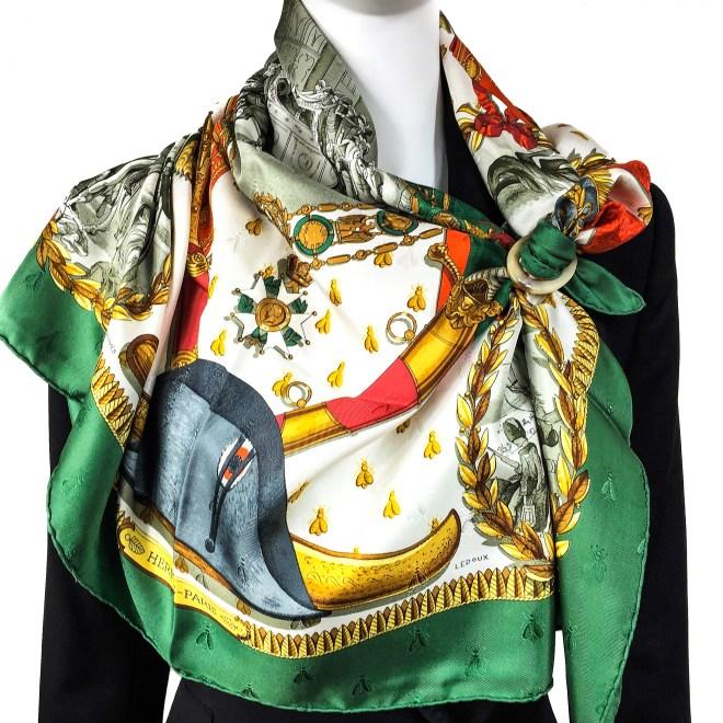 Hermes Silk Jacquard Scarf Napoleon-2.jpg