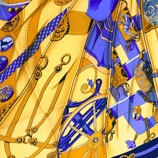 Hermes Silk Scarf Soleil de Soie UNWORN-10